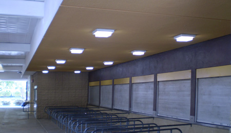 Indoor stadium lighting