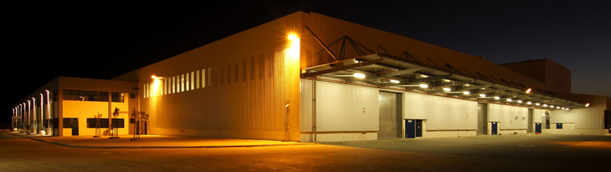 Outdoor warehouse lighting