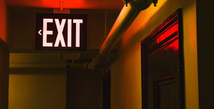 Photo-luminescent Exit Signs