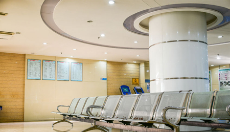 Lighting for waiting room in hospital and business