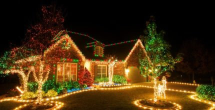 Those Halls Won't Deck Themselves: Pros Help With Holiday Lights