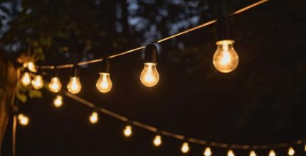 7 Different Types of Outdoor String Lights