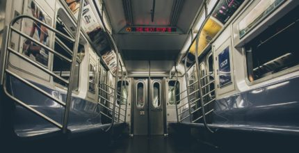 Subway Trains and Buses in NYC Disinfected by UVC to Fight against Coronavirus Infection